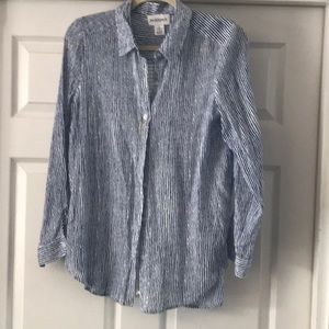 Peck &peck long sleeve shirt size large